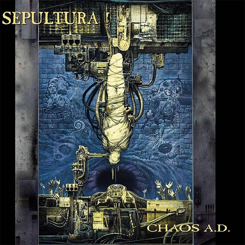 29. Sepultura, 'Chaos A.D.' (1993) the 100 geatest metal albums, the rolling stone, металл