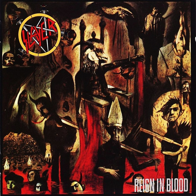 6. Slayer, 'Reign in Blood' (1986) the 100 geatest metal albums, the rolling stone, металл