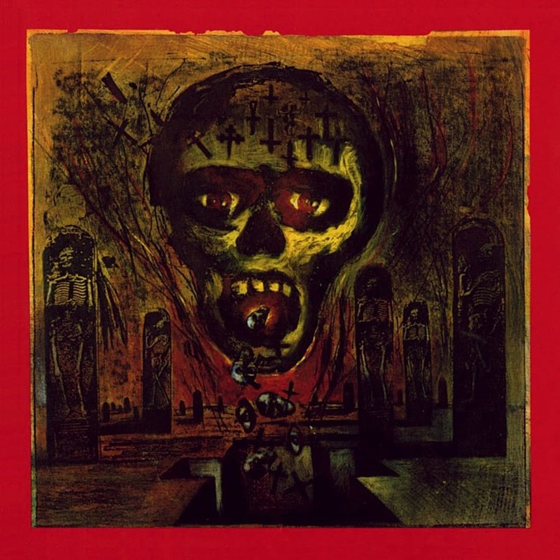 31. Slayer, 'Seasons in the Abyss' (1990) the 100 geatest metal albums, the rolling stone, металл