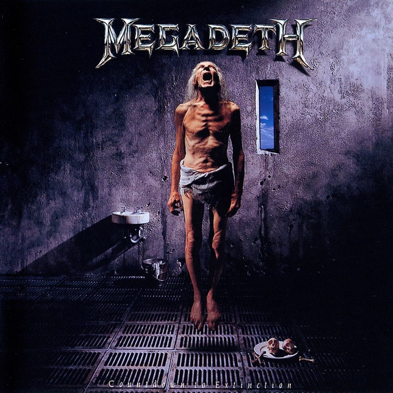 33. Megadeth, 'Countdown to Extinction' (1992) the 100 geatest metal albums, the rolling stone, металл