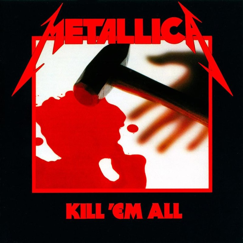35. Metallica, 'Kill 'Em All' (1983) the 100 geatest metal albums, the rolling stone, металл
