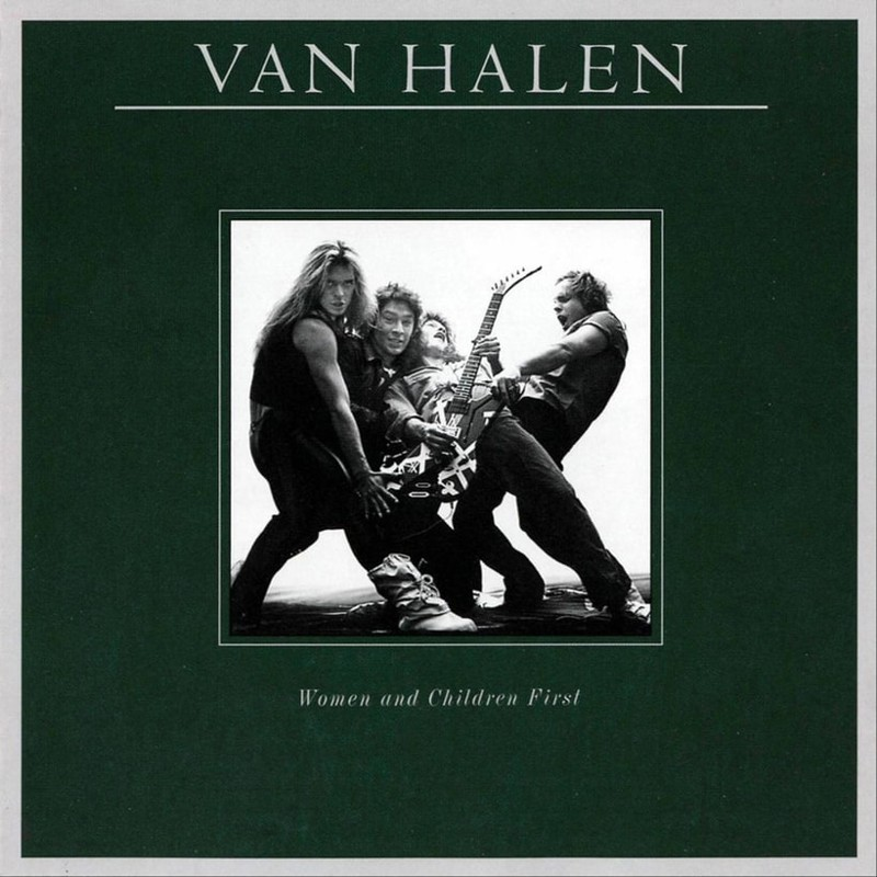 36. Van Halen, 'Women and Children First' (1980) the 100 geatest metal albums, the rolling stone, металл