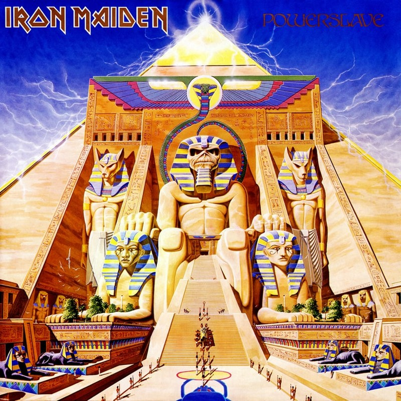 38. Iron Maiden, 'Powerslave' (1984) the 100 geatest metal albums, the rolling stone, металл