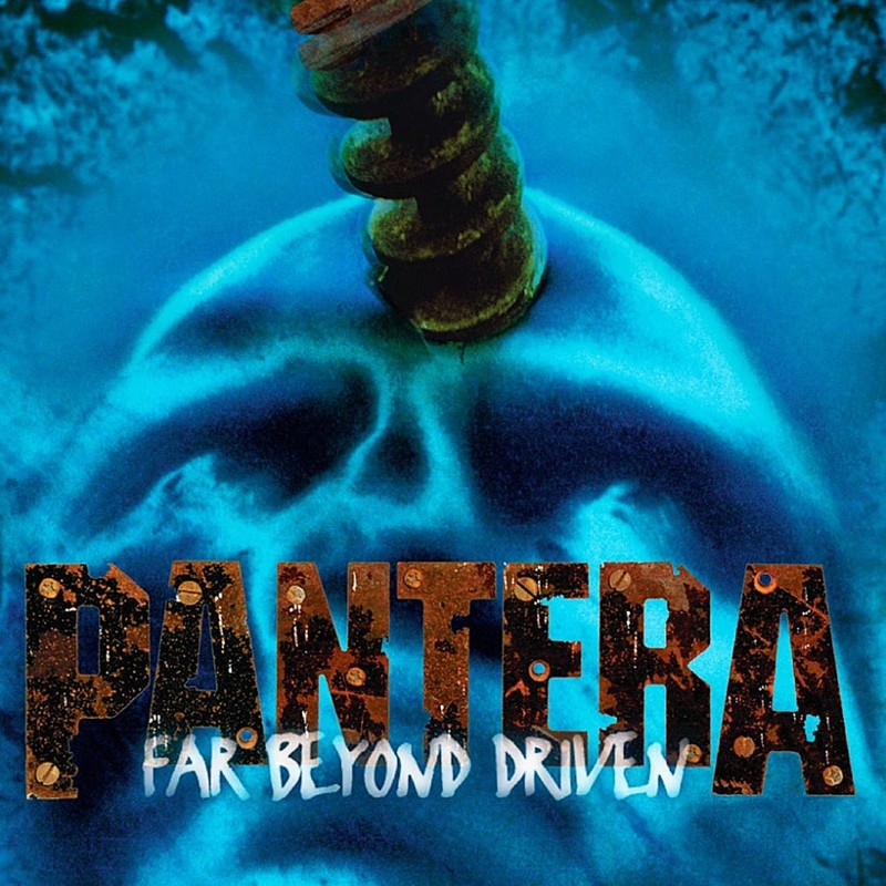 39. Pantera, 'Far Beyond Driven' (1994) the 100 geatest metal albums, the rolling stone, металл