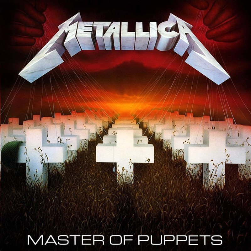 2. Metallica, 'Master of Puppets' (1986) the 100 geatest metal albums, the rolling stone, металл