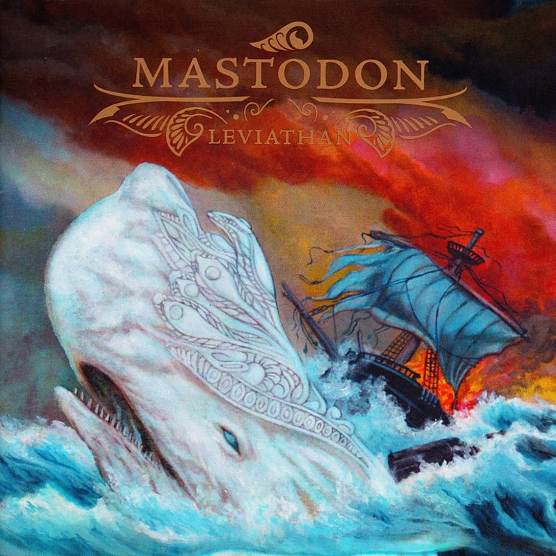 46. Mastodon, 'Leviathan' (2004) the 100 geatest metal albums, the rolling stone, металл