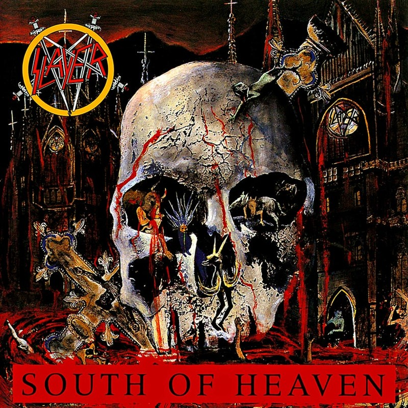 47. Slayer, 'South of Heaven' (1988) the 100 geatest metal albums, the rolling stone, металл