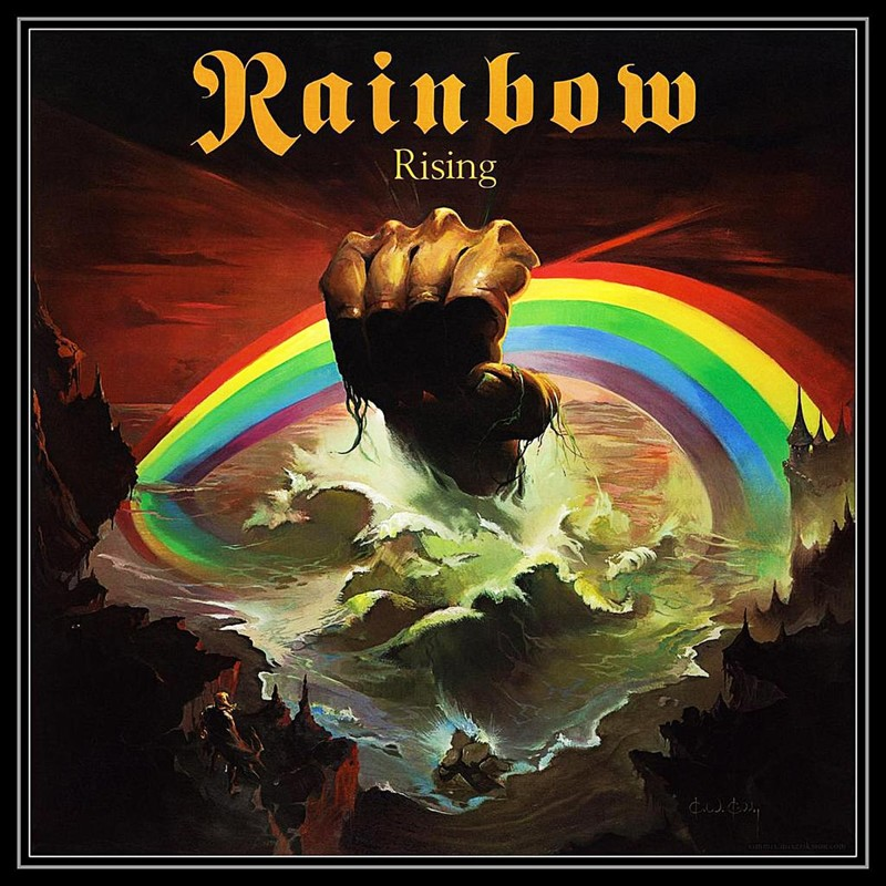 48. Rainbow, 'Rising' (1976) the 100 geatest metal albums, the rolling stone, металл