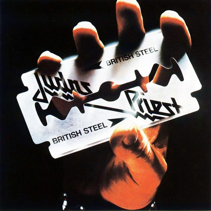 3. Judas Priest, 'British Steel' (1980) the 100 geatest metal albums, the rolling stone, металл