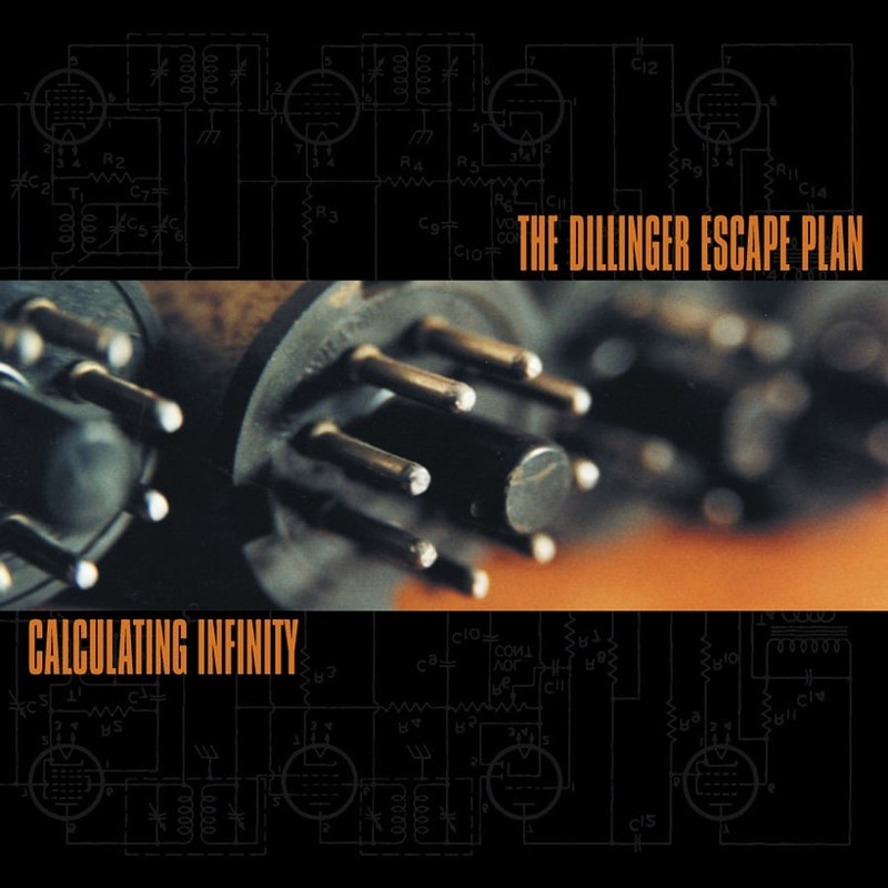 56. The Dillinger Escape Plan, 'Calculating Infinity' (1999) the 100 geatest metal albums, the rolling stone, металл