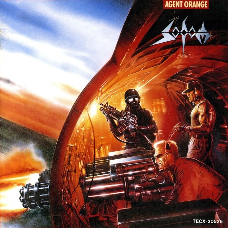 63. Sodom, 'Agent Orange' (1989) the 100 geatest metal albums, the rolling stone, металл