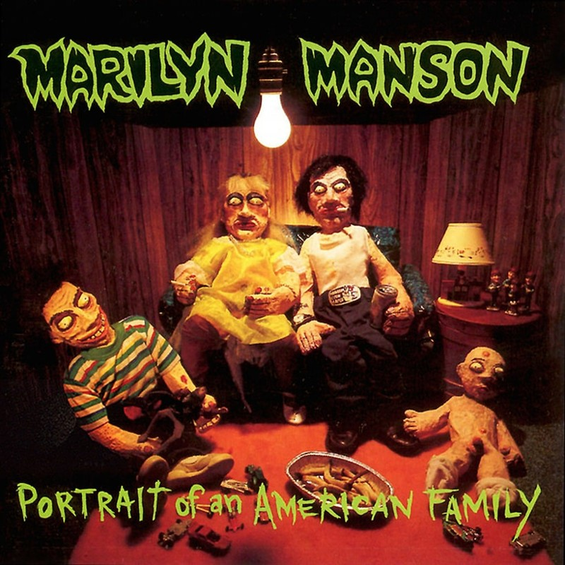 68. Marilyn Manson, 'Portrait of an American Family' (1994) the 100 geatest metal albums, the rolling stone, металл