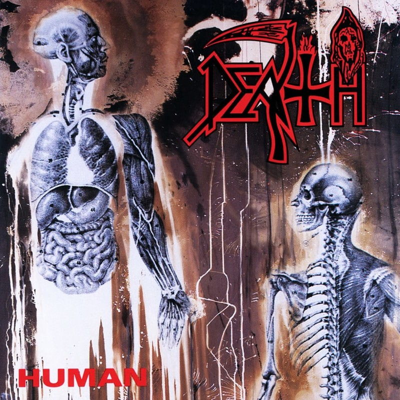 70. Death, 'Human' (1991) the 100 geatest metal albums, the rolling stone, металл