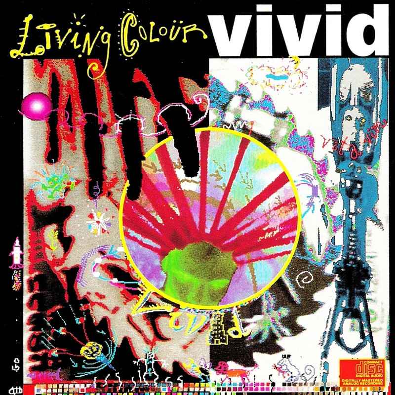 71. Living Colour, 'Vivid' (1988) the 100 geatest metal albums, the rolling stone, металл