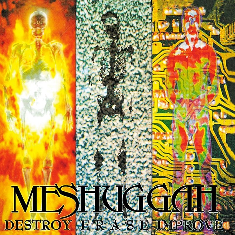 77. Meshuggah, 'Destroy Erase Improve' (1995) the 100 geatest metal albums, the rolling stone, металл