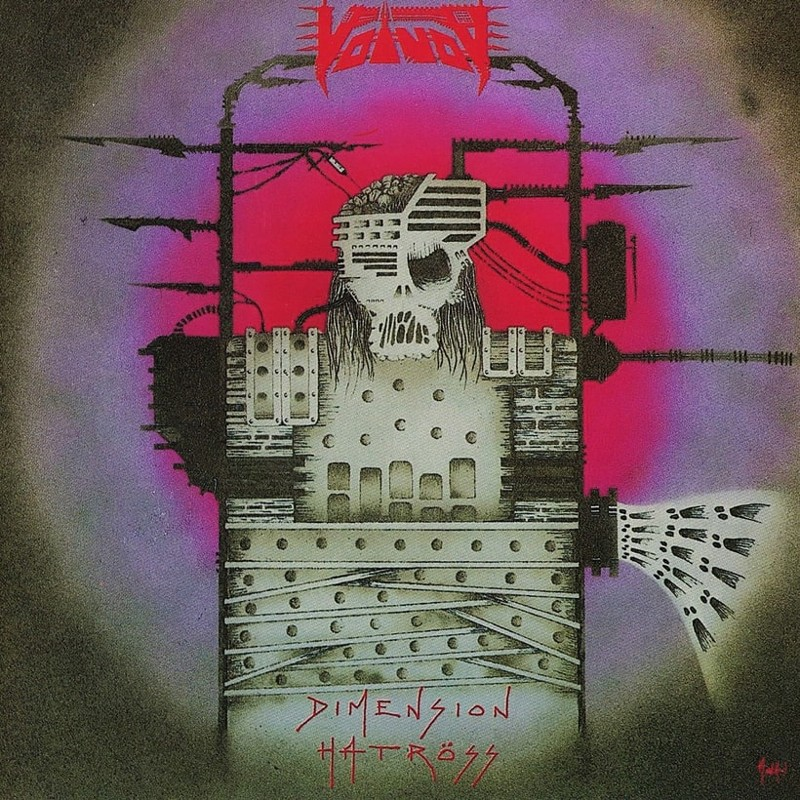 78. Voivod, 'Dimension Hatröss' (1988) the 100 geatest metal albums, the rolling stone, металл