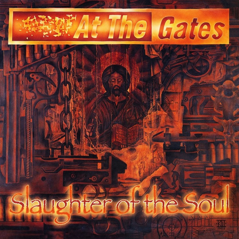 79. At the Gates, 'Slaughter of the Soul' (1995) the 100 geatest metal albums, the rolling stone, металл