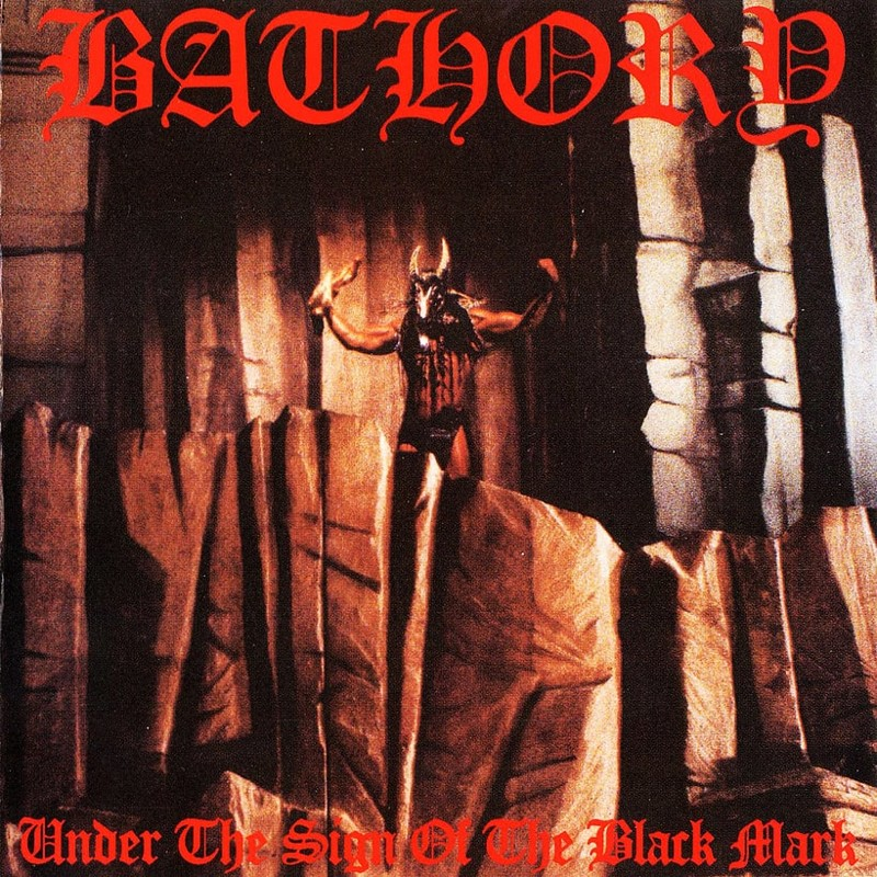81. Bathory, 'Under the Sign of the Black Mark' (1987) the 100 geatest metal albums, the rolling stone, металл