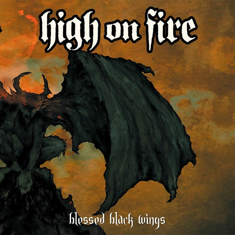 84. High on Fire, 'Blessed Black Wings' (2005) the 100 geatest metal albums, the rolling stone, металл
