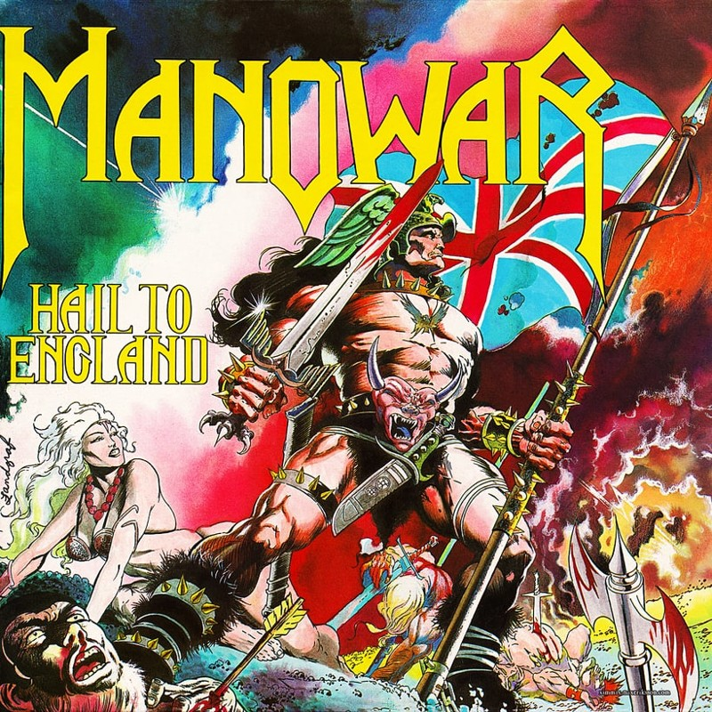 87. Manowar, 'Hail to England' (1984) the 100 geatest metal albums, the rolling stone, металл