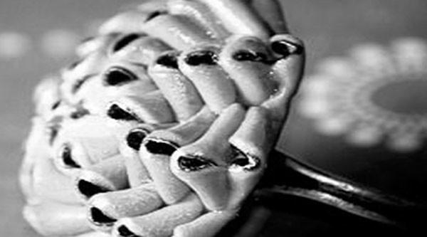 a56ae57aee107b1564f11ad1bfa9eada Кольцо из полимерной глины (пластики) в технике Штамп тонировка