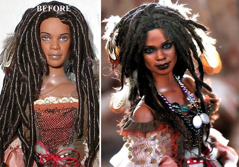 Наоми Харрис art, красиво, креатив, куклы, оригинально, творчество, фото, художник