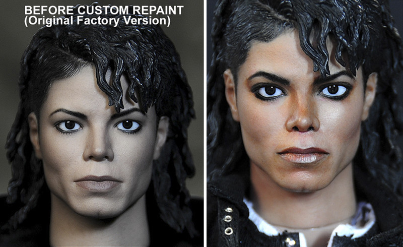 Майкл Джексон art, красиво, креатив, куклы, оригинально, творчество, фото, художник
