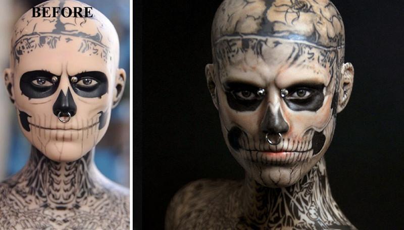 Рик Дженест, парень-зомби art, красиво, креатив, куклы, оригинально, творчество, фото, художник