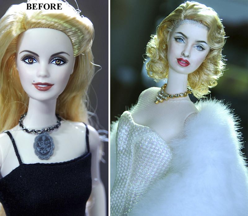 Мадонна art, красиво, креатив, куклы, оригинально, творчество, фото, художник