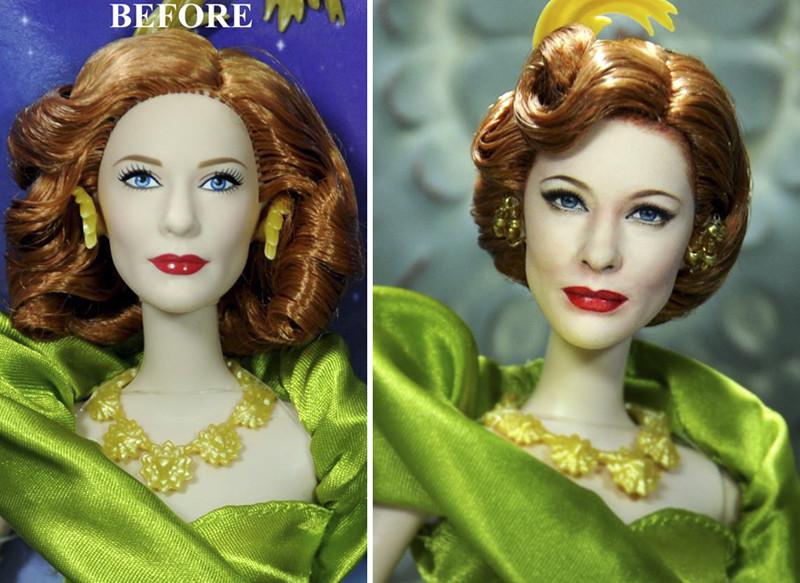Кейт Бланшетт art, красиво, креатив, куклы, оригинально, творчество, фото, художник