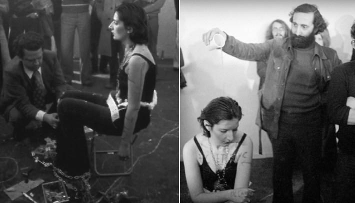 Некоторые люди заставляли ее сесть, чтобы можно было унижать ее Марина Абрамович, люди, художница, эксперимент