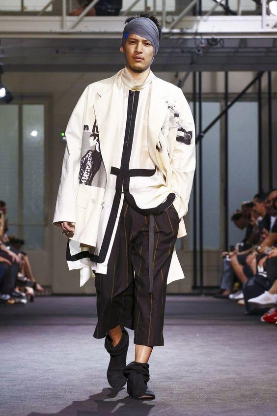 Дизайн от Yohji Yamamoto абсурд, как должен выглядеть мужчина, кошмар, мужская мода, фото