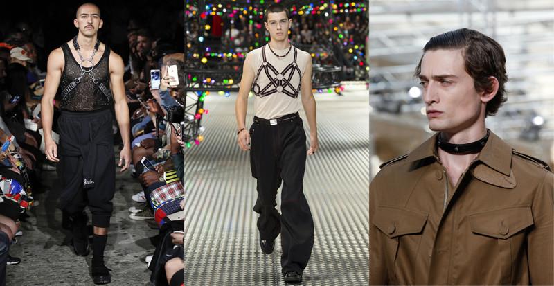 Dolce Gabbana весна-лето 2017 абсурд, как должен выглядеть мужчина, кошмар, мужская мода, фото