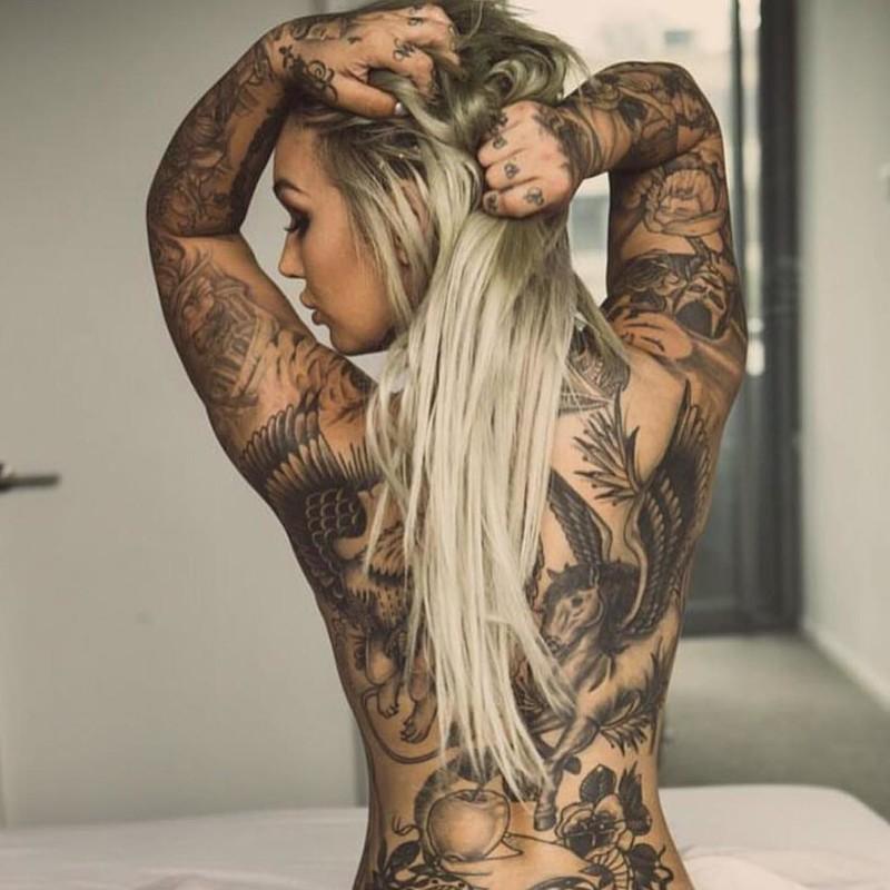 голых теле девок на тату