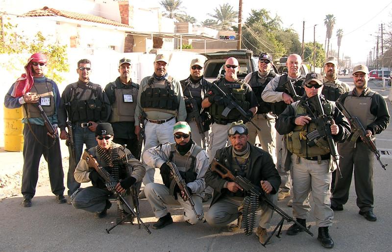 американские ЧВК в Ираке