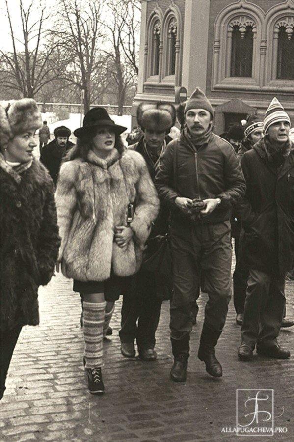 Алла Пугачева и клавишник группы «Рецитал» Игорь Николаев. Начало 1980-х знаменитости, история, фото