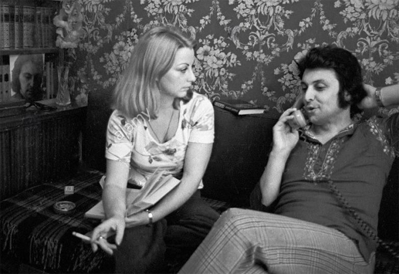 Композитор Вячеслав Добрынин и его супруга Ирина. 13 июня 1979 года. знаменитости, история, фото