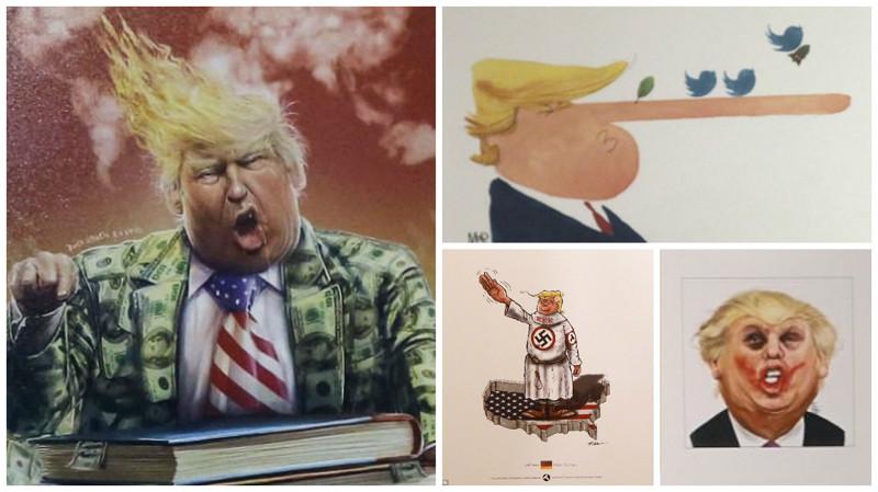 """Дональд """"Врушка"""" или это """"уже не тот"""" Дональд Трамп Trumpcartoonism"""