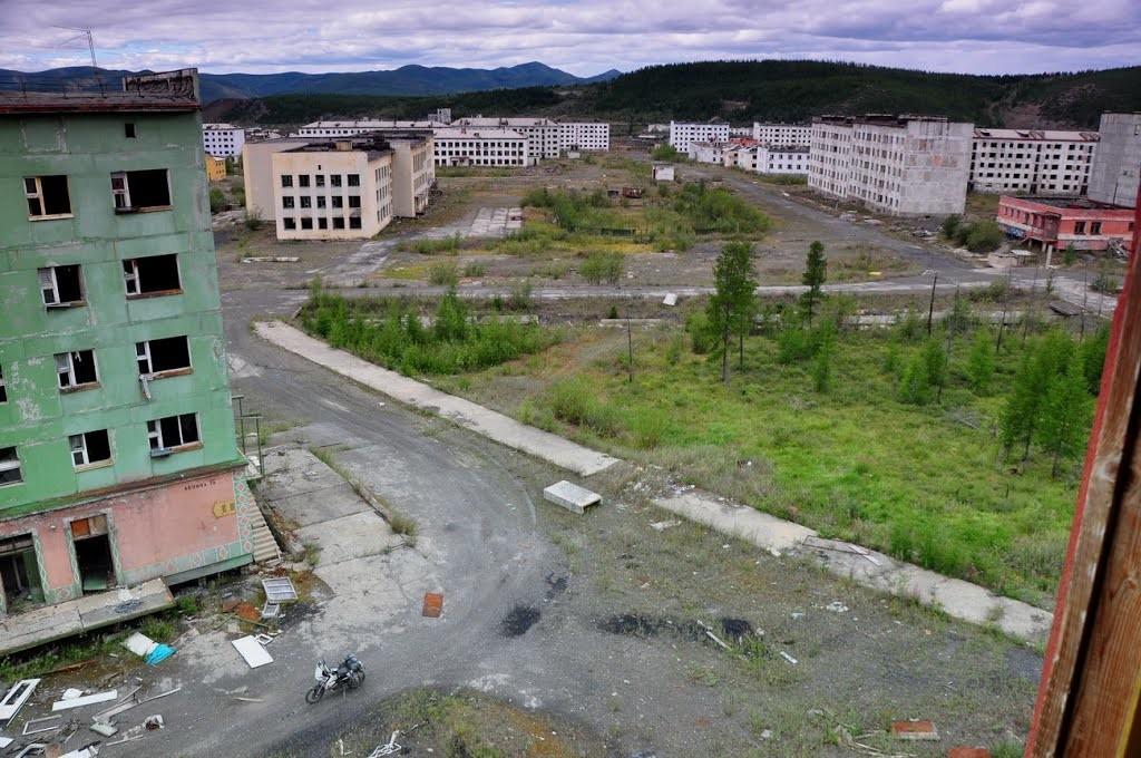 заброшенные города россии фото с описанием