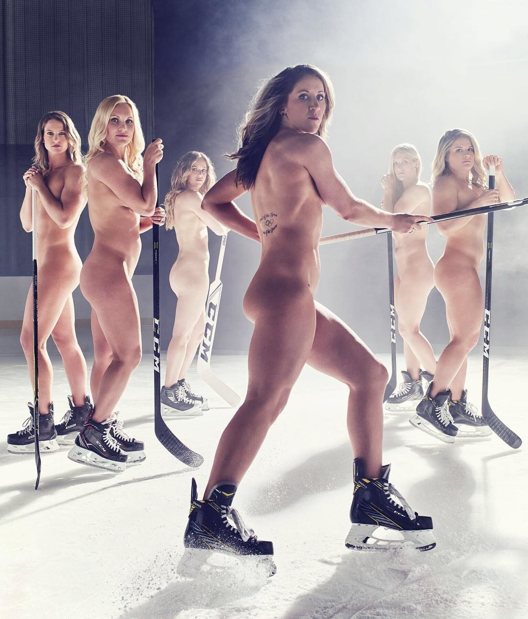 Hockey ice girls nude
