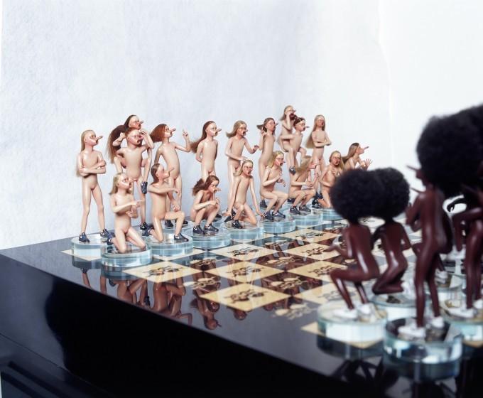 Сняв брюнетки эротические шахматы видео