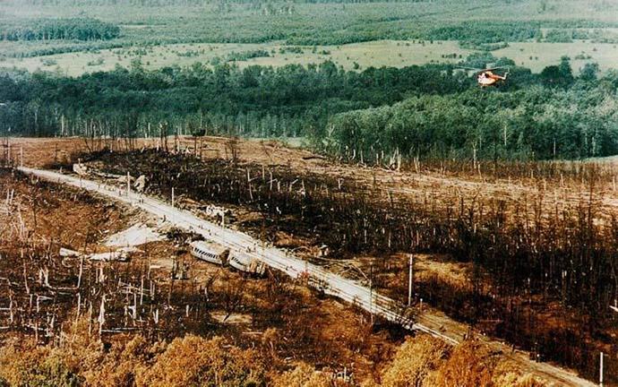Железнодорожная катастрофа под Уфой в ночь с 3 на 4 июня 1989 года история, катастрофа, поезд