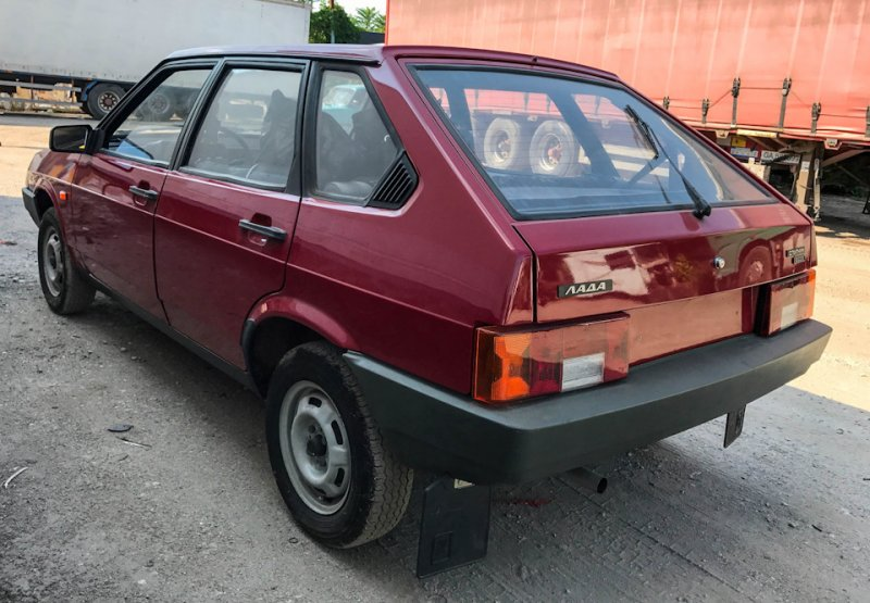 Секс в машине ваз21093
