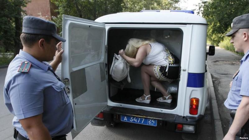 ловят проститутки мусора