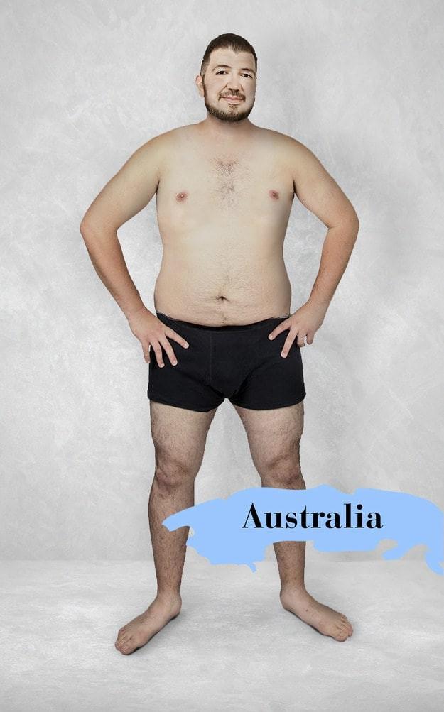 Австралия изменить внешность, красив или некрасив, красота, мужская привлекательность, национальные стандарты красоты, разные народы, фото, фотошоп