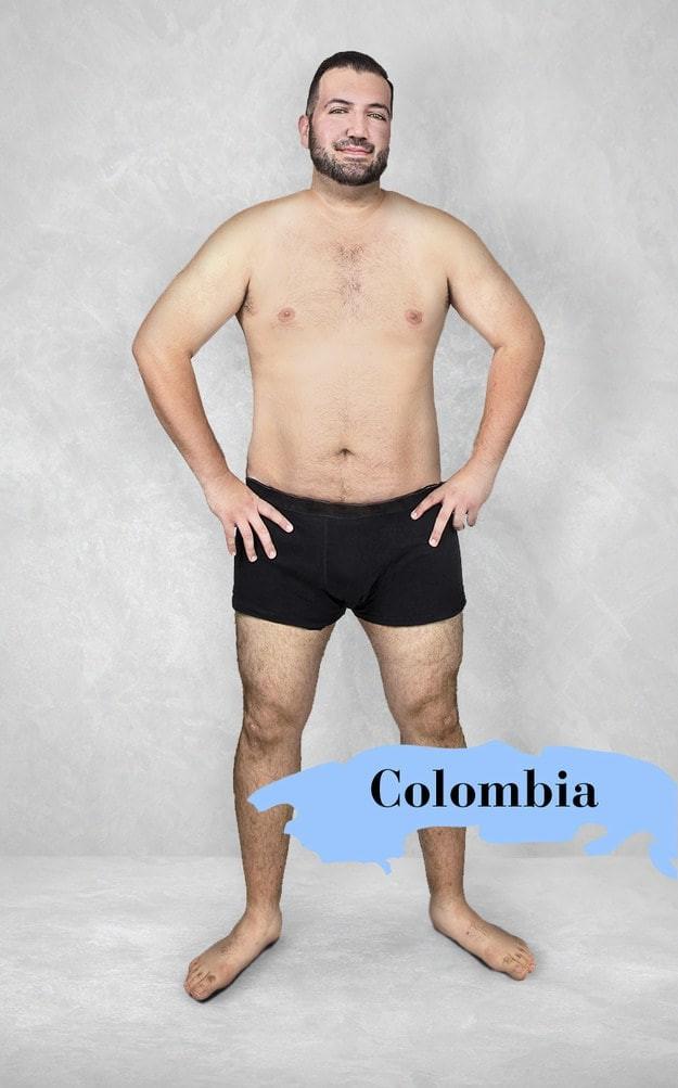 Колумбия изменить внешность, красив или некрасив, красота, мужская привлекательность, национальные стандарты красоты, разные народы, фото, фотошоп