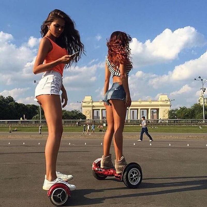 Девчушки в посте - для красоты... баловство, гироскутер, ерунда, интересное, модное, сегвей, удобное