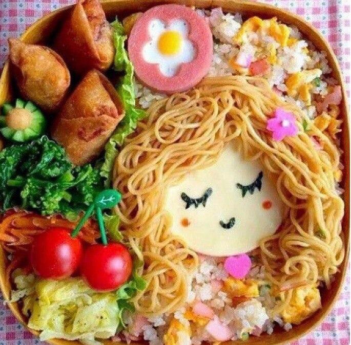 Обед-бэнто день, животные, кадр, люди, мир, снимок, фото, фотоподборка
