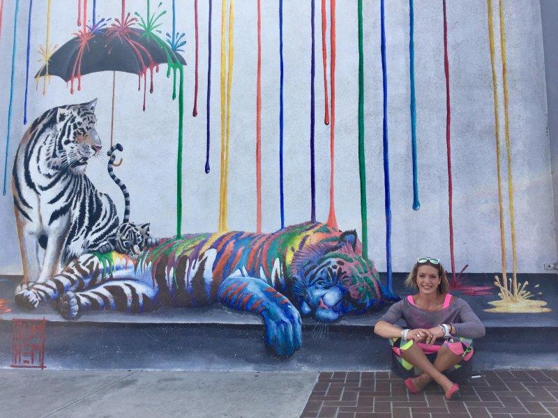 Красочное граффити день, животные, кадр, люди, мир, снимок, фото, фотоподборка