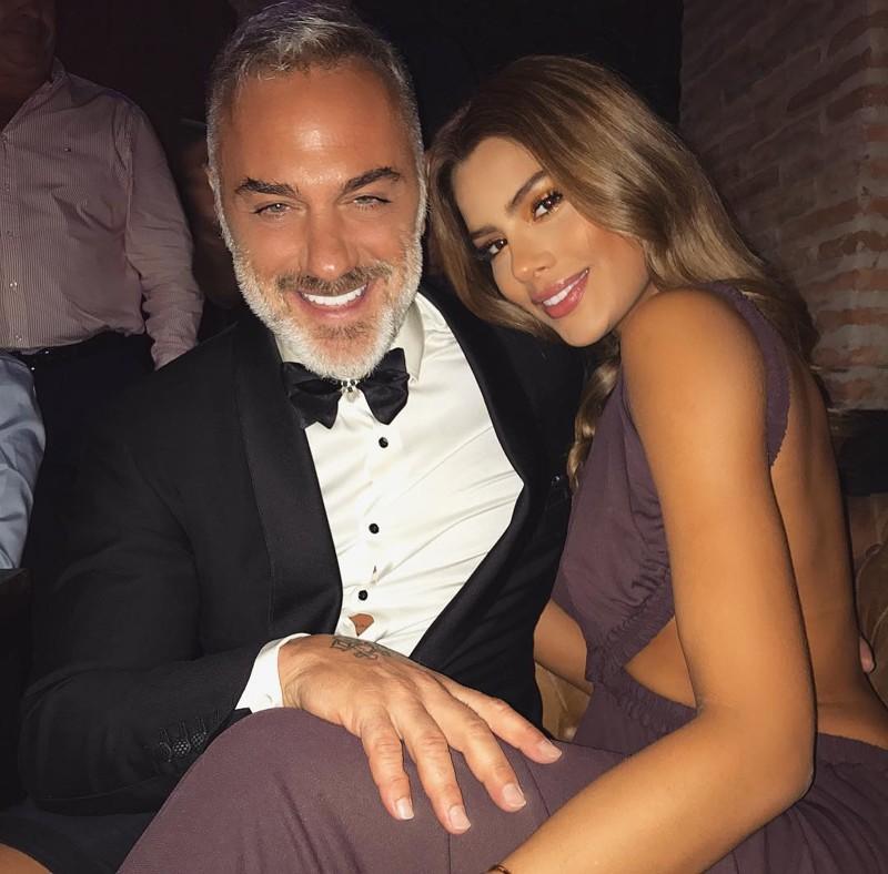 С новой подружкой, моделью Ариадной Гутьеррес Instagram, Джанлука Вакки, Танцующий, дольче вита, звезда соцсетей, миллионер, плейбой